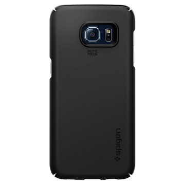 Spigen Thin Fit Samsung Galaxy S7 Edge Zwart