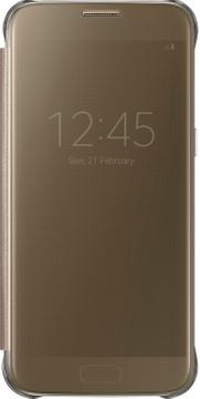 Samsung Galaxy S7 Clear View Cover Goud