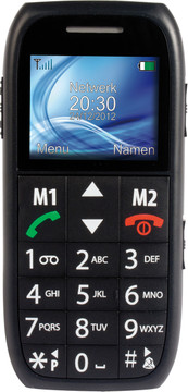 Fysic Big Button Comfort FM-7500 Zwart