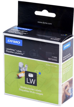 DYMO Universele Labels (19 mm x 51 mm)