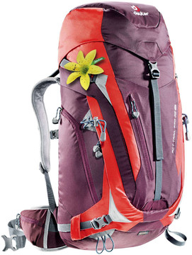 Deuter ACT Trail Pro 38 SL Aubergine/Fire