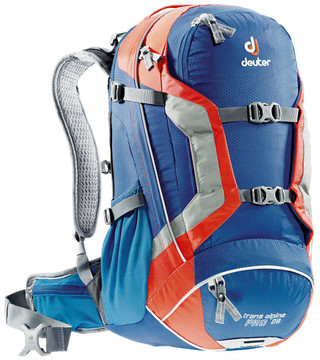 Deuter Trans Alpine Pro 28 Steel/Papaya
