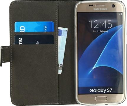 Mobilize Gelly Wallet Book Case Samsung Galaxy S7 Zwart