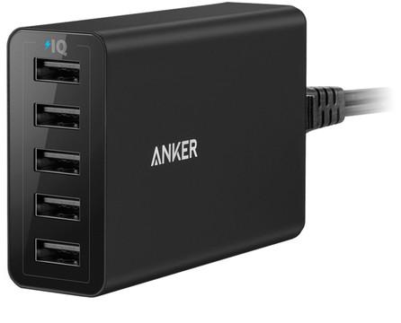 Anker PowerPort 5 12A Zwart