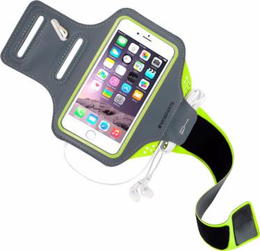 Mobiparts Comfort Fit Sportarmband iPhone 6/6s/7 Groen