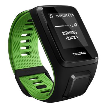 TomTom Runner 3 Cardio + Music Black/Green - L