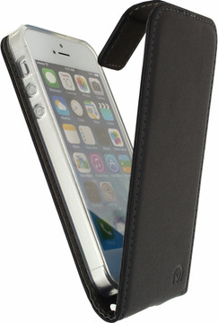 Mobilize Classic Gelly Flip Case iPhone 5/5S/SE Zwart