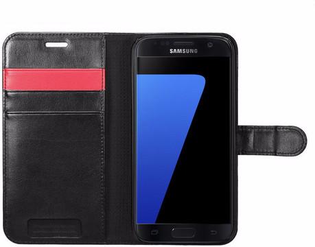 Spigen Wallet S Samsung Galaxy S7 Zwart