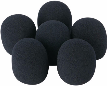 DAP-Audio D1320 Microfoon Windschermen (set van 6)