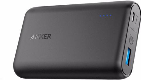 Anker PowerCore Speed 10.000 mAh Quick Charge 3.0 Zwart