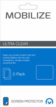 Mobilize HTC U Play Screenprotector Plastic Duo Pack
