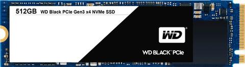 WD Black PCIe 512 GB