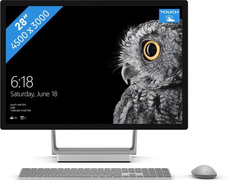 Microsoft Surface Studio i7 - 32GB - 128GB + 2TB - GTX980M