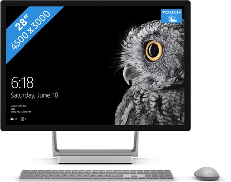 Microsoft Surface Studio i7 - 16GB - 128GB + 1TB - GTX965