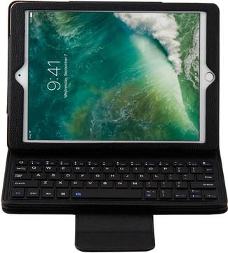 Just in Case Apple iPad (2017) Toetsenbord Hoes Zwart