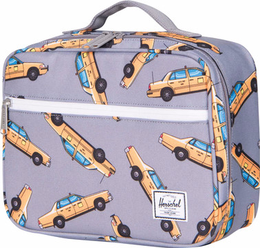 Herschel Pop Quiz Lunchbox Grey Taxi