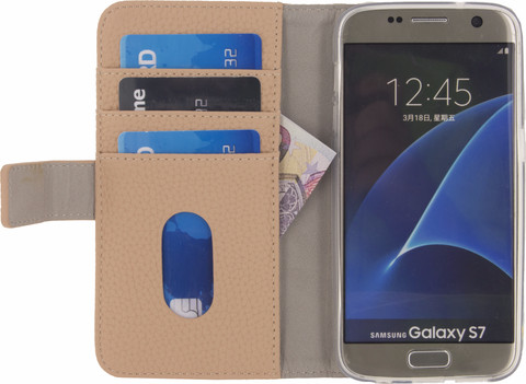 Mobilize SE Classic Gelly Wallet Galaxy S7 Book Case Roze