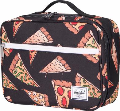 Herschel Pop Quiz Lunchbox Black Pizza