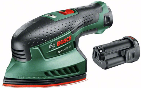 Bosch EasySander 12 + 2e accu
