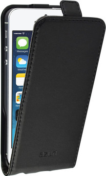 Azuri Flip CS iPhone 5/5S/SE Flip Case Zwart