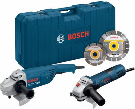 Bosch GWS 22-230 JH + GWS 7-125