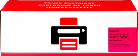 Huismerk HP 201X Toner Magenta XL (CF403X)