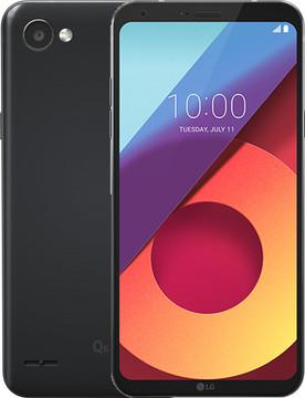 LG Q6 Zwart