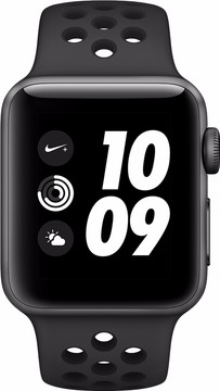 Apple Watch Series 3 Nike+ 42mm Space Grey Aluminium/Zwart S