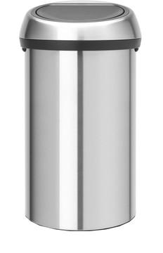 Brabantia Touch Bin 60 Liter Matt Steel