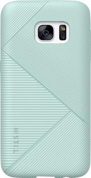 STI:L Stone Edge Protective Galaxy S7 Back Cover Blauw