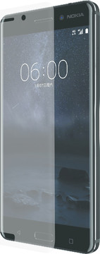 Azuri Nokia 6 Screenprotector Curved Gehard Glas Duo Pack