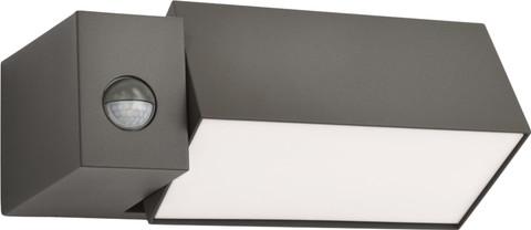 Philips Ecomoods Border Wandlamp Antraciet bewegingssensor