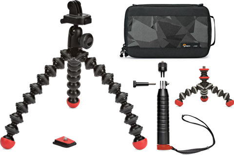 Joby Gorillapod Action Base Kit Zwart