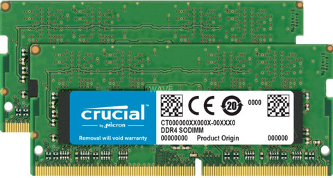 Crucial Apple 32 GB SODIMM DDR4-2400 Kit 2 x 16