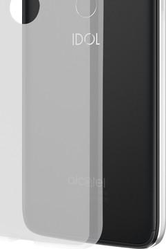 Azuri Glossy TPU Alcatel Idol 5 Back Cover Transparant