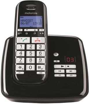Motorola S3011 Zwart