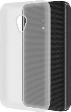 Azuri Glossy TPU Alcatel U5 Back Cover Transparant