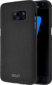 Azuri Flexible Sand Samsung Galaxy S7 Back Cover Zwart