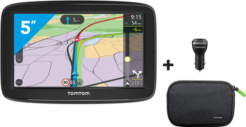 TomTom Via 52 West-Europa + Case & Charger