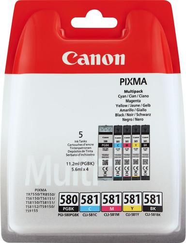 Canon PGI-580/CLI-581 Multi-pack (2078C005) Main Image