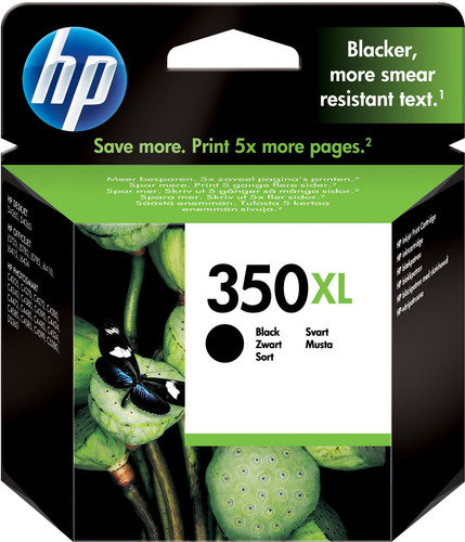 HP 350XL Cartridge Black (HPCB336E) Main Image