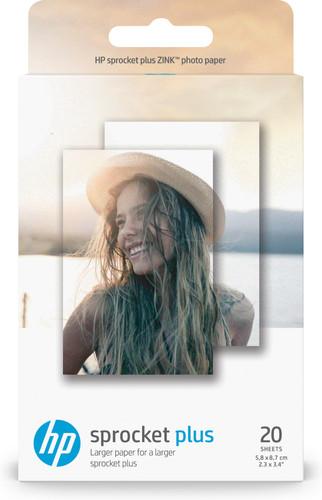 HP ZINK Fotopapier voor Sprocket Plus 20 vel Main Image