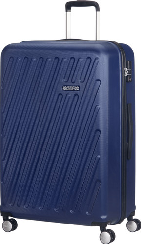 378d3d679 ... American Tourister Hypercube Spinner 55cm Dark Navy right side