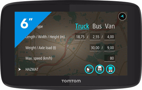 TomTom Go Professional 620 Europa Main Image
