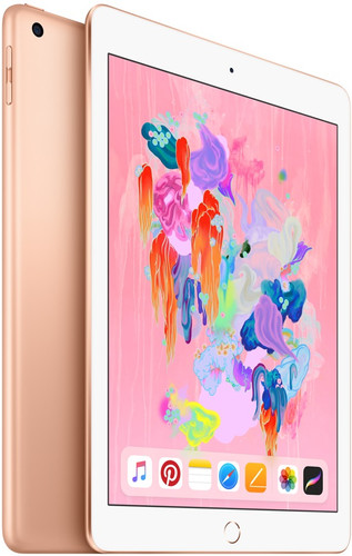 Apple iPad (2018) 128GB WiFi Gold Main Image