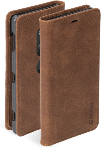 Krusell Sunne Vintage 2 Sony Xperia XZ2 Book Case Brown Main Image