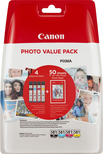 Canon CLI-581 Multipack (2106C005) Main Image