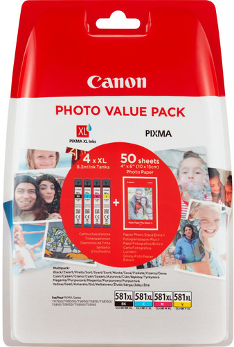 Canon CLI-581XL Multi-pack (2052C004) Main Image