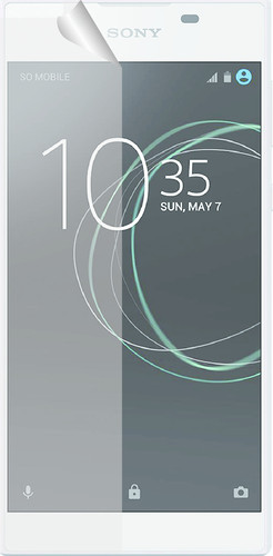 Azuri Sony Xperia L1 Screen Protector Plastic Duo Pack Main Image