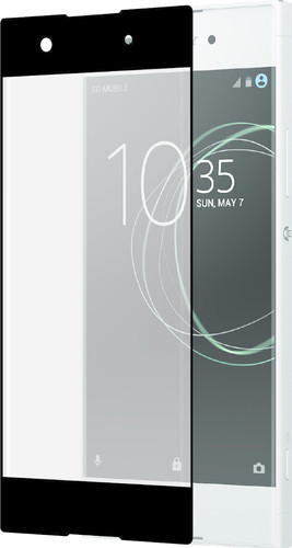 Azuri Sony Xperia XA1 Screen Protector Curved Tempered Glass Black Main Image
